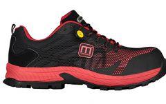 Proneon work shoes - Proneon S1P zaščitni čevlji črno - rdeči